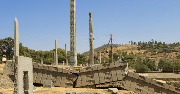 Aksumské obelisky, Etiópia