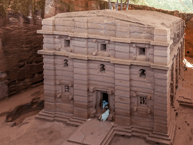 Kostol Biete Emanuel, Lalibela, Etiópia